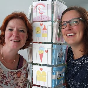 Anne en Inegborg / de dames van ANNIdesign
