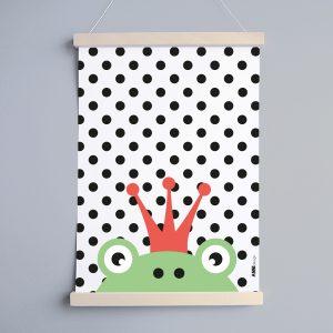 Poster Kinderkamer Kikker ANNIdesign