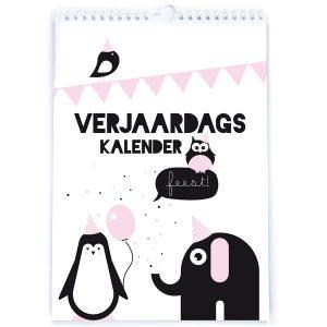 kalender feestbeesten voorkant