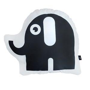 Kussen olifant zwart ANNIdesign 01