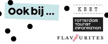 ANNIdesign ook bij KEET Flavourites Rotterdam Tourist Information