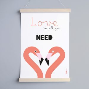 Poster All you need in 3 formaten ANNIdesign
