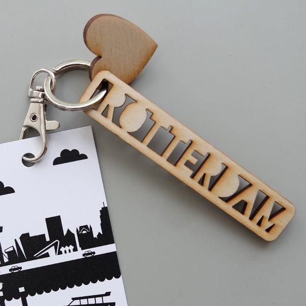 Sleutelhanger Rotterdam leuk hip en handig ANNIdesign