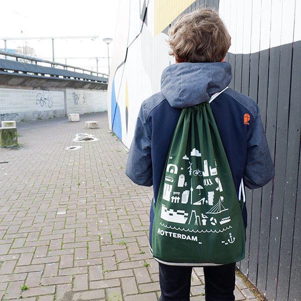 Rugtas Rotterdam groen_ANNIdesign_01