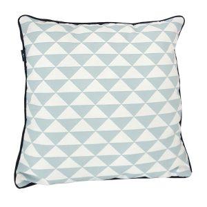 Kussen_40x40_driehoek old blauw met wafelstof_ANNIdesign_01