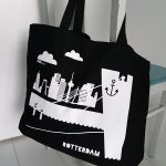 Tas Rottedam shopper in zwart ANNIdesign