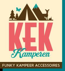 KEK kamperen logo