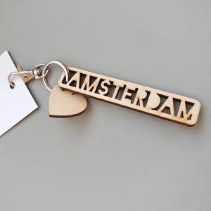 Sleutelhanger Amsterdam ANNIdesign