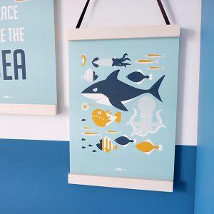 Poster Onderwater vissen A3 en A4 ANNIdesign