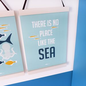 Poster Onderwater No Place A3 en A4 ANNIdesign