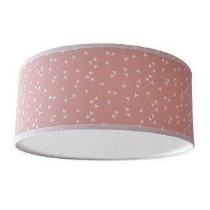 Plafondlamp Triangel roze_Little Dreamzzz