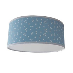 Plafondlamp Triangel blauw Little DreamZzz