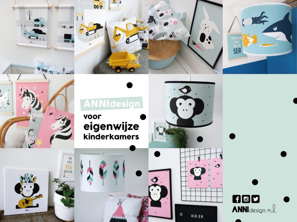 ANNIdesign voor eigenwijze kinderkamers_Collectie 2018-2019