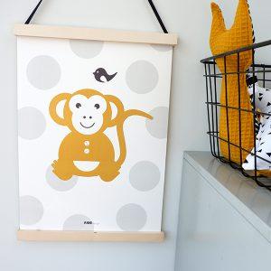 Poster Aap Babykamer ANNIdesign